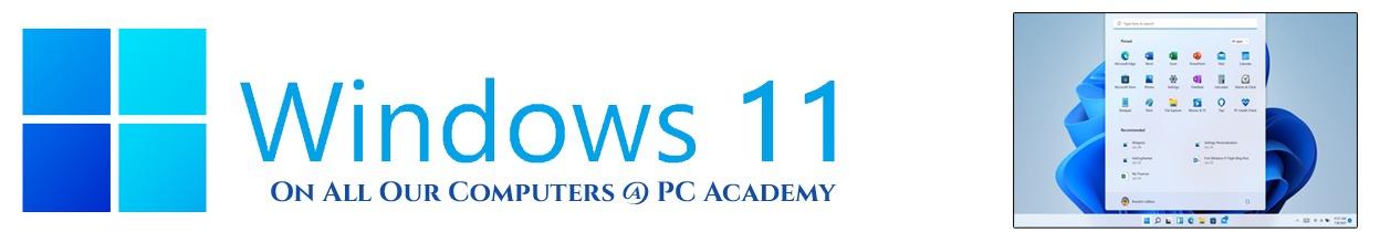 windows 11 pc academy banner